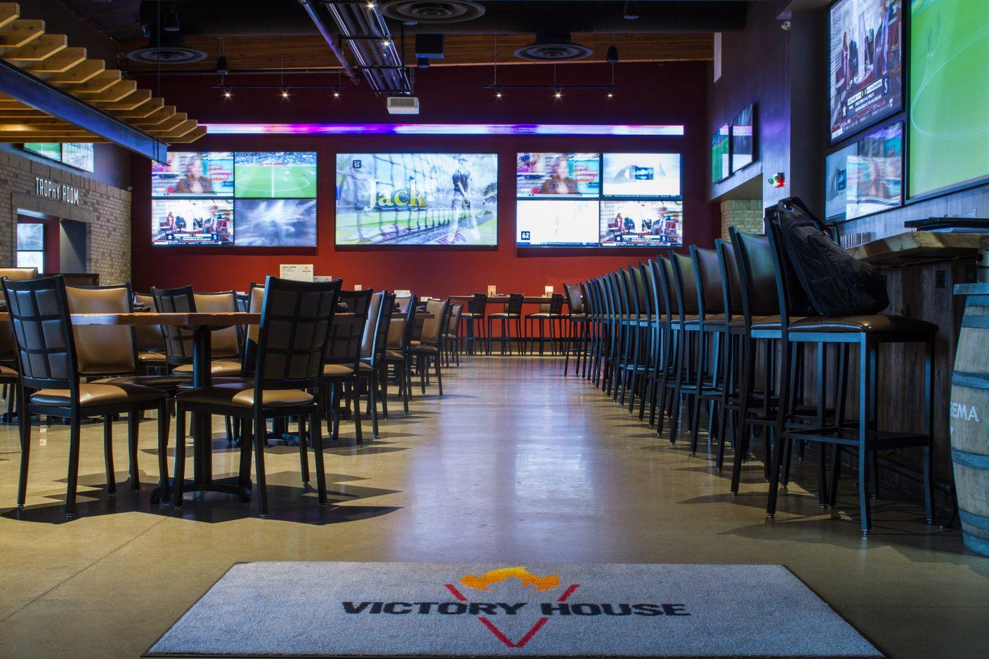 Victory House event space