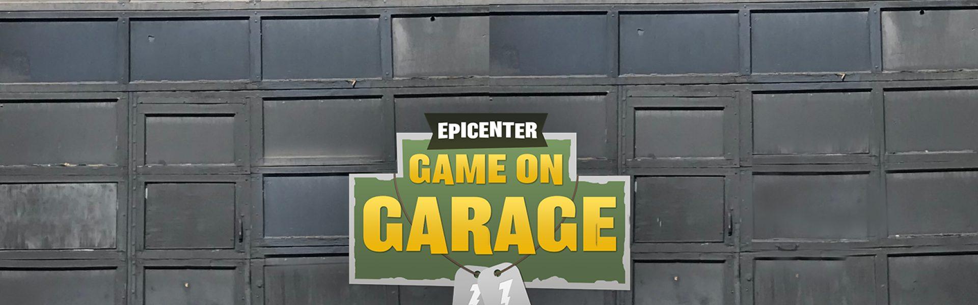 Game On Garage Header 2