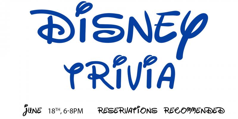 Disney trvia