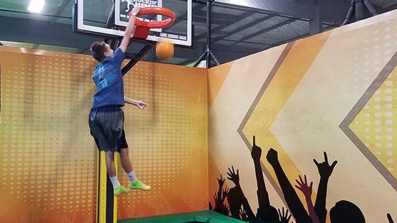 Rockin dunk