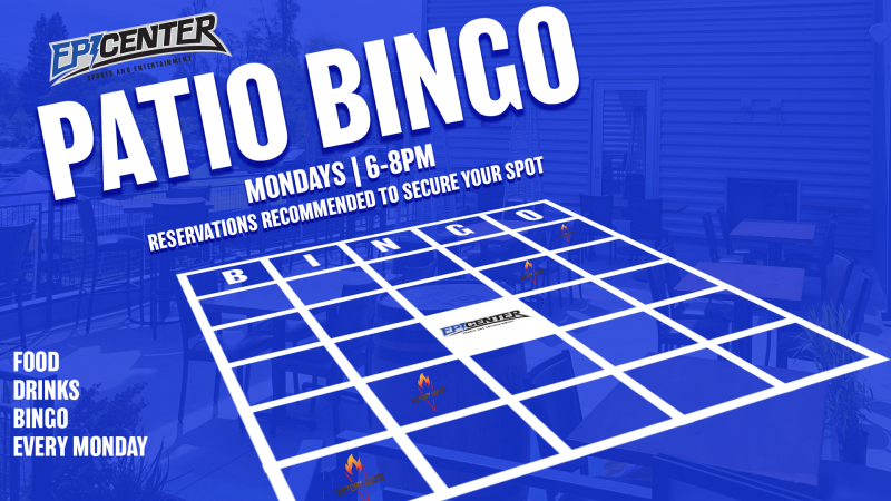 Patio bingo mondays