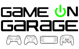 Logo - Game On Garage